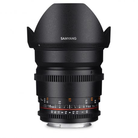 Samyang 16mm T2.2 VDSLR for Canon M