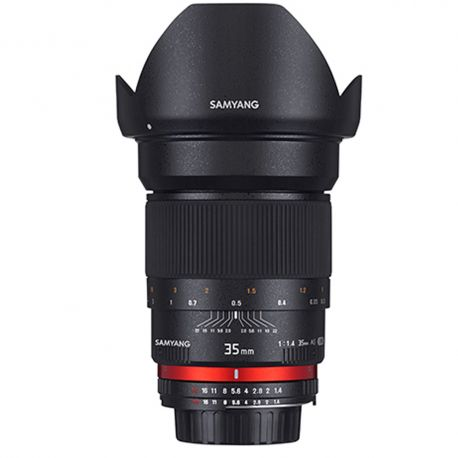 Samyang 35mm f/1.4 UMC AS lens for Canon