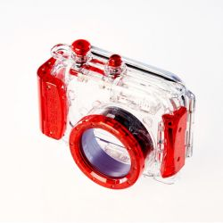 Seashell SS-1 red - Underwater housing for compact cameras