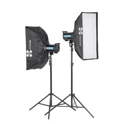 Quadralite Pulse 1200 Product Photography Kit