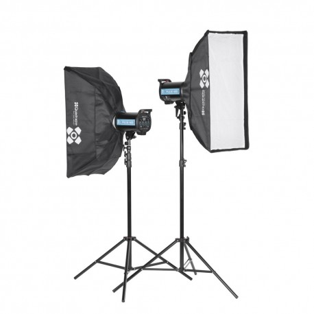 Zestaw lamp Quadralite Pulse 1200 Product Photography Kit