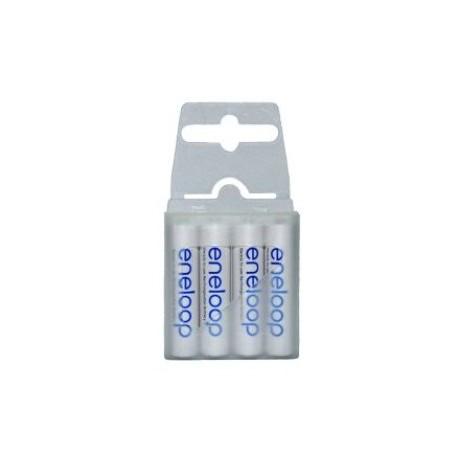 Eneloop AAA 750mAh rechargeable battery x4 box