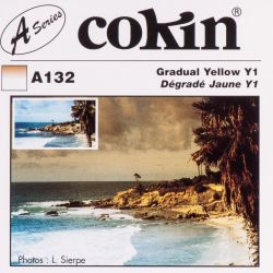 Cokin filter A132 size S half yellow Y1