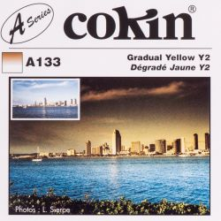 Cokin filter A133 size S half yellow Y2