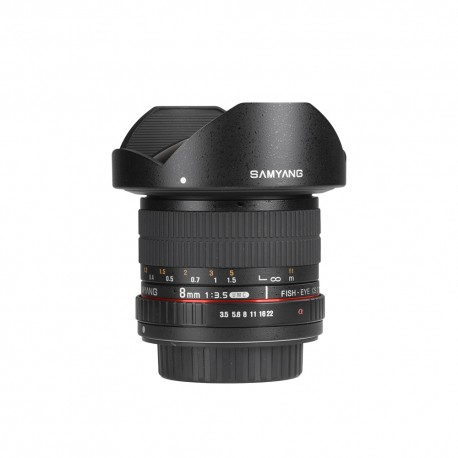 Samyang 8mm f/3.5 Aspherical IF MC Fish-eye CS II for SONY