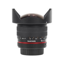 Samyang 8mm f/3.5 Aspherical IF MC Fish-eye CS II for Pentax