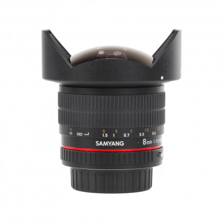 Samyang 8mm f/3.5 Aspherical IF MC Fish-eye CS II do Pentax