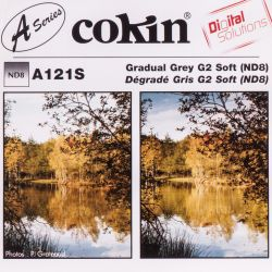 Cokin A121S filter size S half gray ND8