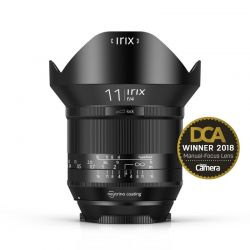 Irix 11mm f/4 Blackstone lens for Canon