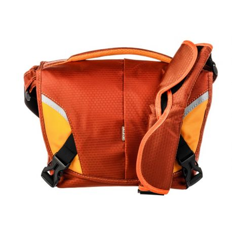 Genesis Boston orange camera bag