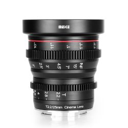 Meike MK-25mm T2.2 Cine lens for Fuji X