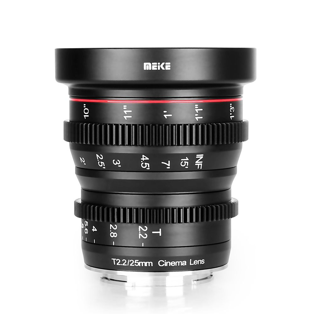 Meike MK-25mm T2.2 Cine lens for MFT