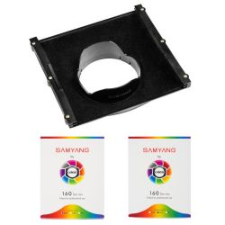 Samyang SFH-14 filter holder for Samyang 14mm lens + two fiters