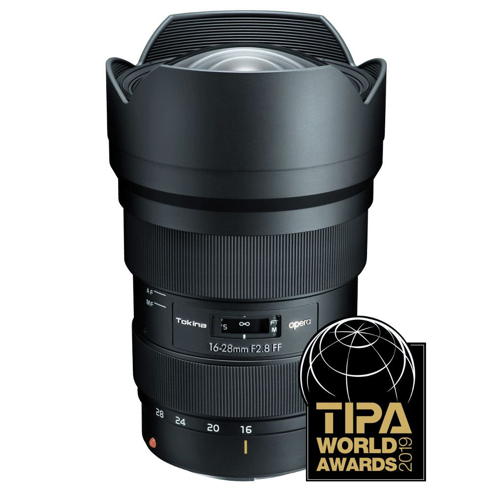 Tokina opera 16-28mm F2.8 FF for Canon