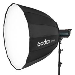 Softbox Godox P90L parabolic hexadecagon 90cm