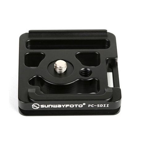 Sunwayfoto PC-5DII quick release plate for Canon 5D Mark II