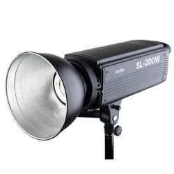 LED Godox SL-200W video continuous light lamp