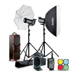 Studio flash kit Godox QSII 2xQS400II