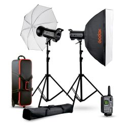 Studio flash kit 1 Godox QTII QT400IIM QT600IIM