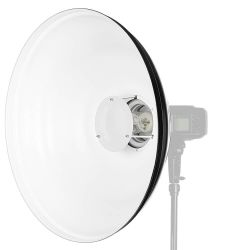 Quadralite Wave Beauty Dish biały 55