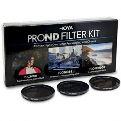 Hoya PROND Filter Kit 8/64/1000 55mm