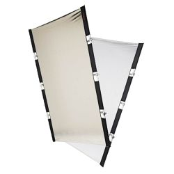 Fomex PERI Bounce Reflector PBR1521 gold silver white fabric