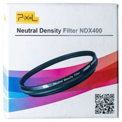 Pixel ND2 / ND400 neutral filter gray with variable density 37mm
