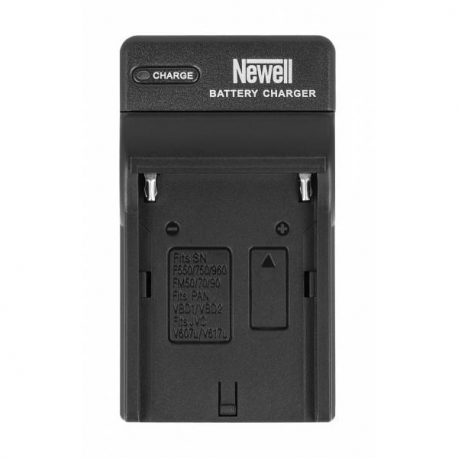 NEWELL battery charger with DC-USB port for NP-F, NP-FM batteries