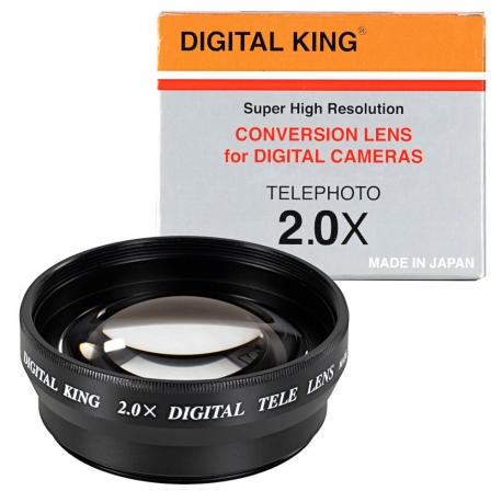 Telekonwenter 2x Digital King DRT-20 52mm czarny