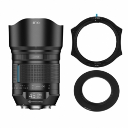 Irix 45mm f/1.4 Dragonfly for Pentax + IFH100 + Adapter 77mm