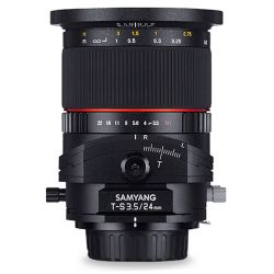 Samyang T-S 24mm f/3.5 ED AS UMC Tilt-shift for Canon