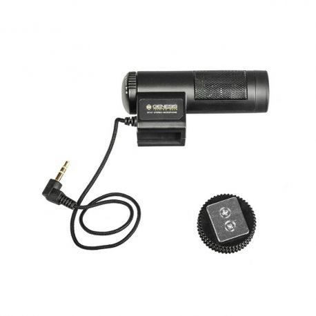 Genesis ST-01 stereo shotgun microphone for cameras and camcorders