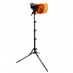Quadralite VideoLED 600 Set with Light Stand and Gels