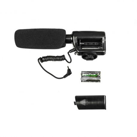 GENESIS ST-02 Stereo shotgun microphone for cameras and camcorders