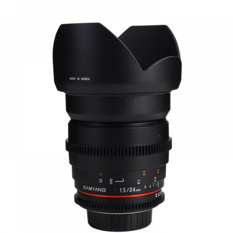 Samyang 24mm T1.5 ED AS IF UMC VDSLR for Nikon