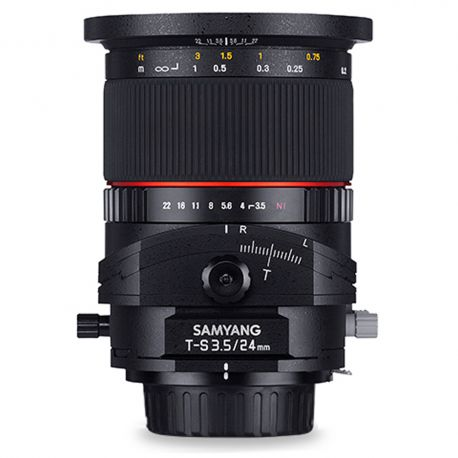 Samyang T-S 24mm f/3.5 ED AS UMC Tilt-shift for Sony E