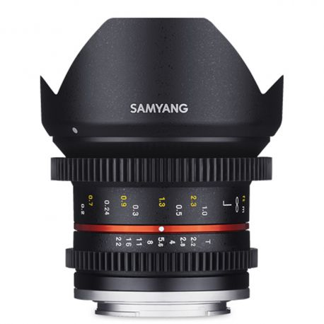 Samyang 12mm T2.2 VDSLR do Canon M