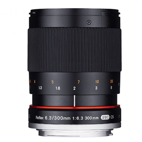 Samyang 300mm F6.3 Reflex black for MFT