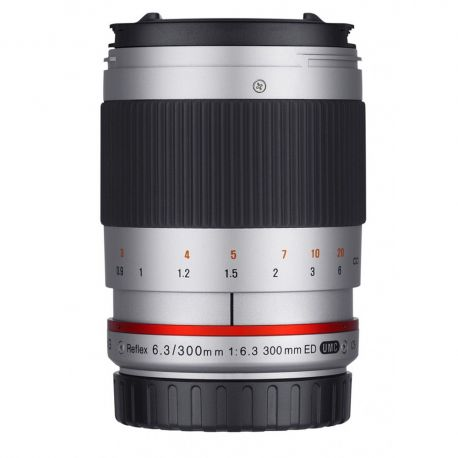 Samyang 300mm F6.3 Reflex silver for MFT