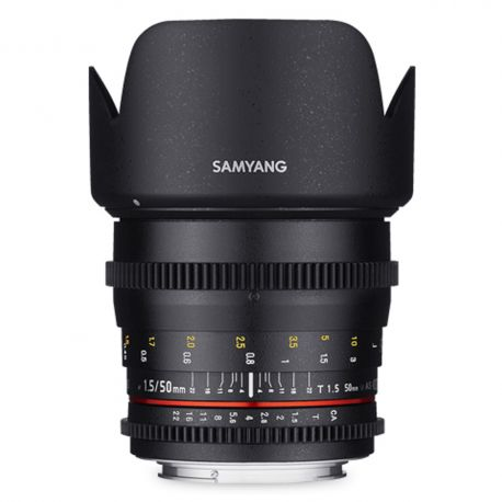 Samyang 50mm T1.5 VDSLR do Sony