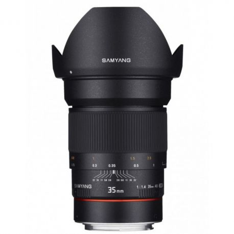 Samyang 35mm f/1.4 AS UMC AE for Canon