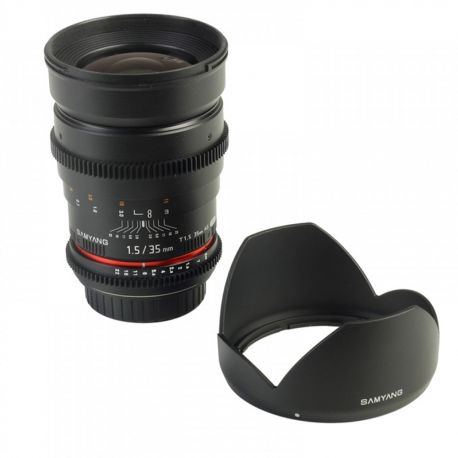 Samyang 35mm T1.5 ED AS IF UMC VDSLR for MFT