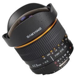 Samyang 8 mm f/3.5 Aspherical IF MC Fish-eye for Samsung NX