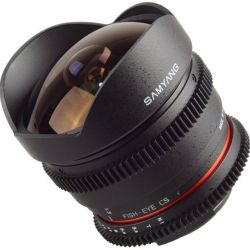 Samyang 8mm T3.8 Fish-eye CS VDSLR for Nikon