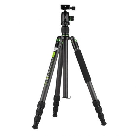 Genesis Base C3 Kit green - Tripod with Ballhead