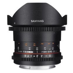 Samyang 8mm VDSLR II T3.8 Fish-eye CS II for Canon