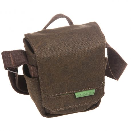 Genesis Tacit S brown camera holster