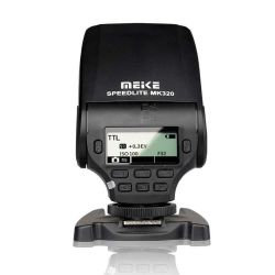 The Meike MK-320 flash for Canon