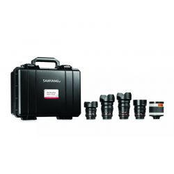 Samyang VDSLR Cinema Set 4 (14 mm, 24 mm, 35 mm, 85 mm, 500 mm) für Sony