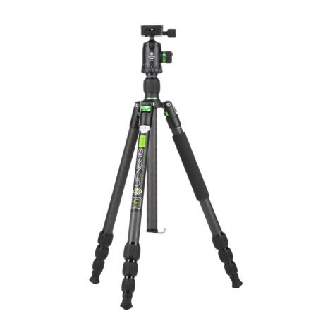 Genesis Base C1 Kit green - Tripod with Ballhead